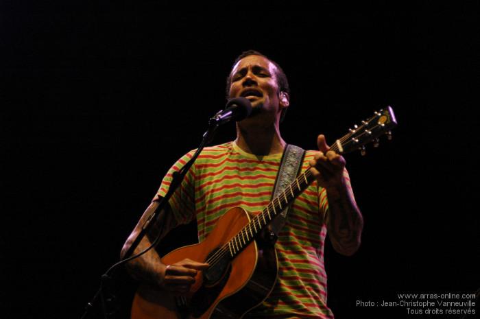 Ben Harper à Arras : Bonheur auditif sans limite !