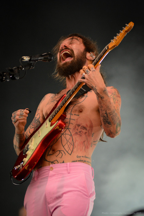 Biffy Clyro au Main Square Festival 2017