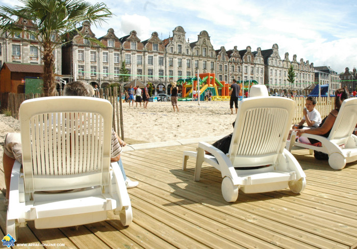 Arras on the beach - La plage à Arras !