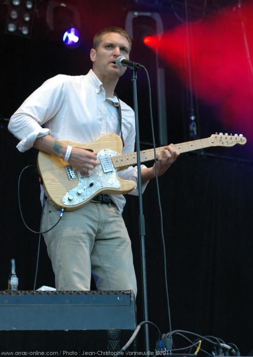 Cold War Kids au Main Square Festival d'Arras 2011