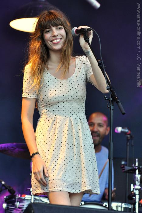 Lou Doillon au Main Square Festival 2013