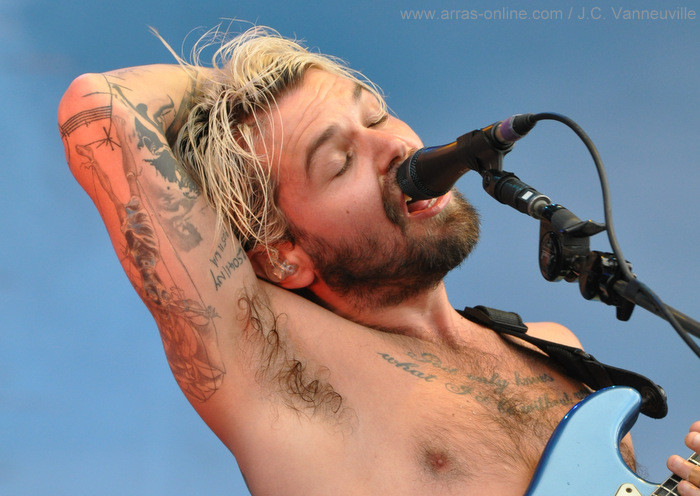 Biffy Clyro au Main Square 2013