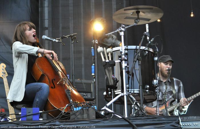Ben Howard au Main Square Festival Arras 2012