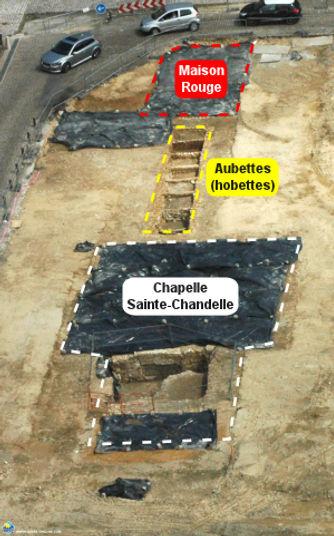Arras Sainte Chandelle et Maison Rouge