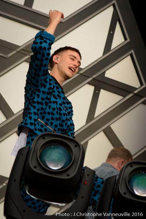 Years And Years au Main Square Festival Arras 2016