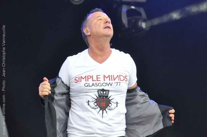 Simple Minds Main Square Festival 2012 Arras