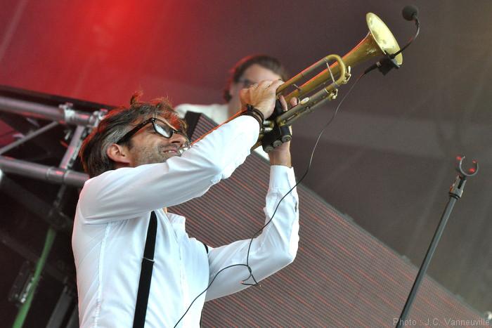 The Parov Stelar Band au Main Square Festival d'Arras 2014