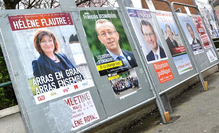 Elections municipales Arras 2014