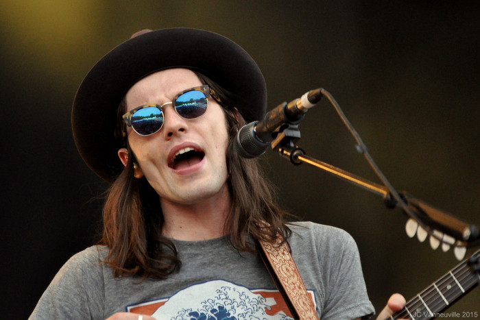 James Bay au Main Square Festival Arras