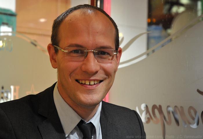 Antoine Détourné Candidat à la Mairie d'Arras