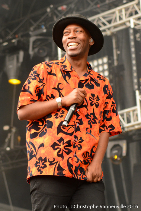 Tiggs Da Author au Main Square Festival Arras 2016