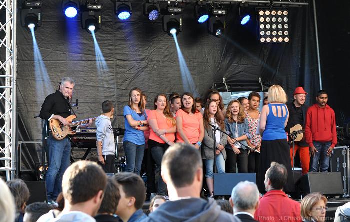 Concert au collège Marie Curie d'Arras