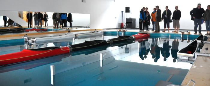 Un tank a kayak, un outil unique pour l'entrainement des sportifs !