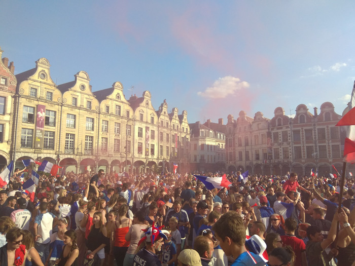 Finale Coupe du monde de football Arras