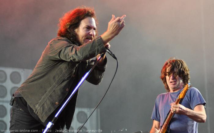 Pearl Jam Main Square Festival Arras 2012