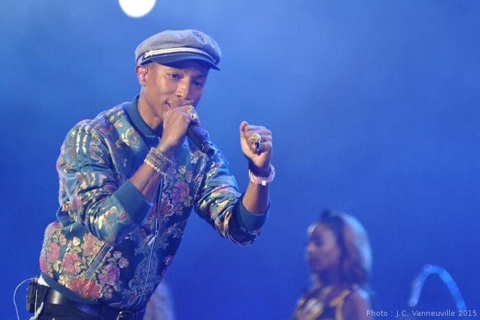 Pharrell Williams Main Square Festival 2015 Arras