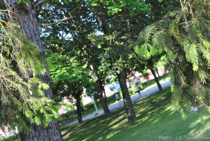 Le Parc du Rietz Saint Sauveur à Arras