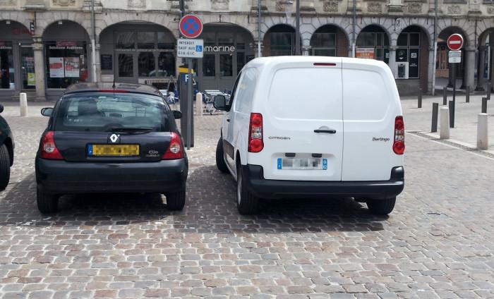 Arras stationnement et pv
