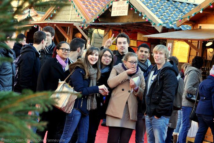 Le marché de Noel à Arras 2013