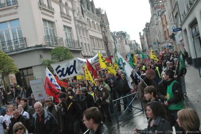 Arras en grève