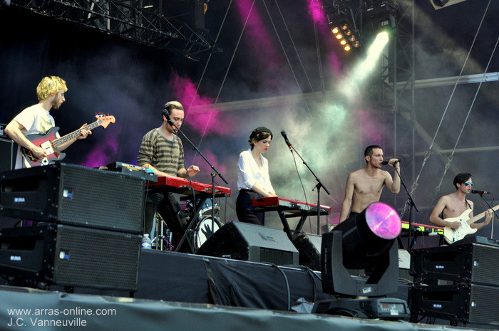 La Femme - Main Square Festival d'Arras 2013