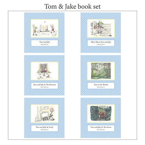 Tom & Jake Series - 6 book set