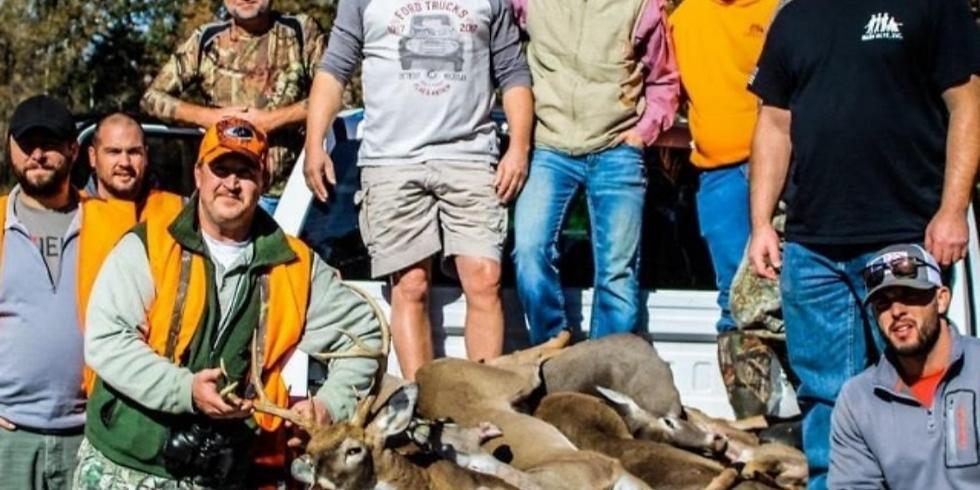 German farms deer hunt