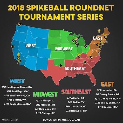 Spikeball Tour