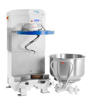 SPIRAL MIXER WITH MOVABLE BOWL