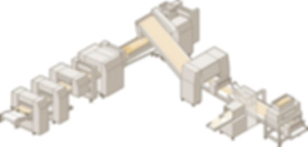 AUTOMATIC LINE FOR BAKERY PRODUCTION