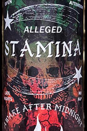 Alleged Stamina Dark Arts Candle