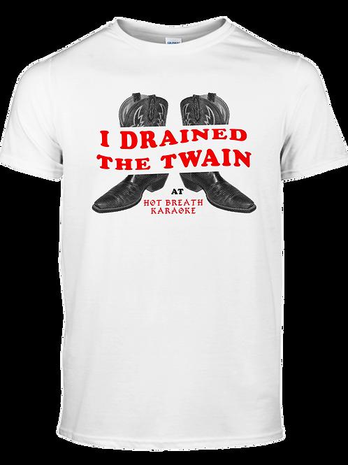 Drain The Twain Tee