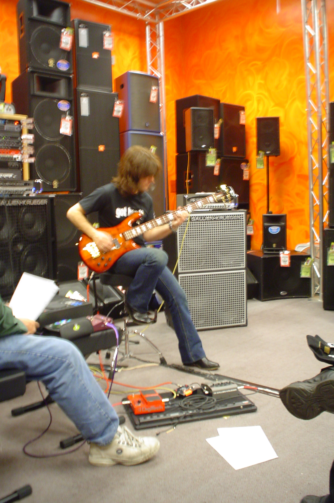 Guitar Center Bass Clinic