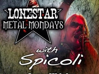 "Mondays 9pm central time Greg Spicoli will be FEATURING ""STORM WARNING"""
