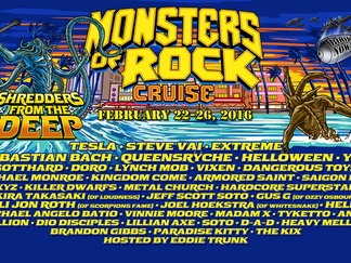 The Ex-Yngwies on the Monsters of Rock Cruise   February 22 - 26, 2016