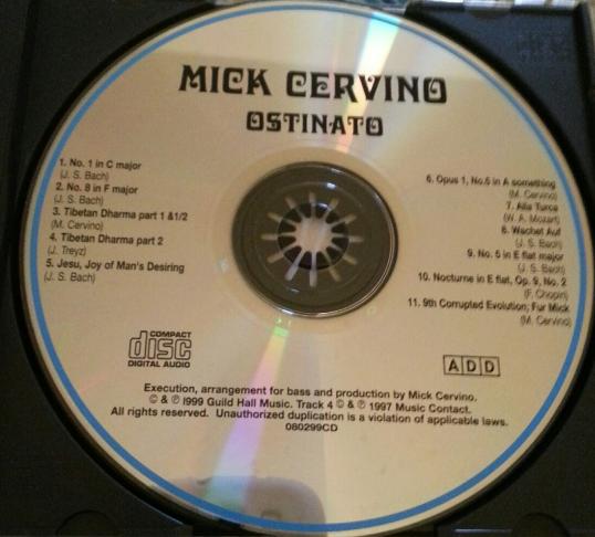 OSTINATO - CD