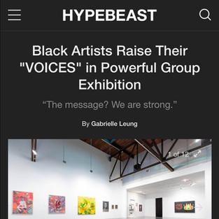 HYPEBEAST - Voices Exhibition
