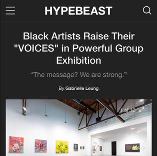 HYPEBEAST - Voices Exhibition