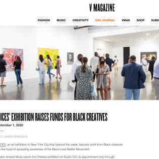 V Magazine - Voices Exhibition