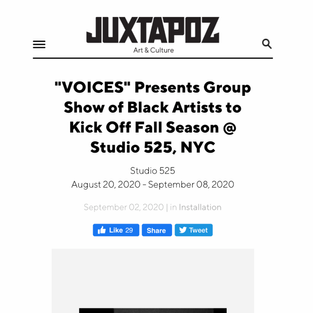 Juxtapoz - Voices Exhibition