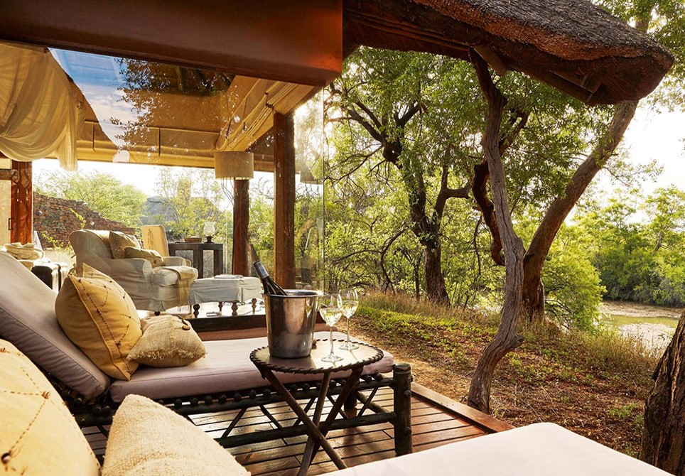 Makanyane lodge outdoor pic