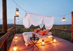 Sleeping under the stars-Makanyane