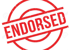 Endorsements (updated regularly)