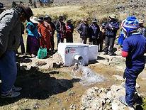 Sistema de riego por inundación