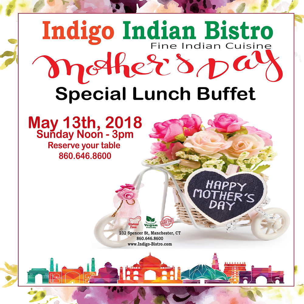 Special Lunch Buffet @ Indigo Indian Bistro - Manchester CT