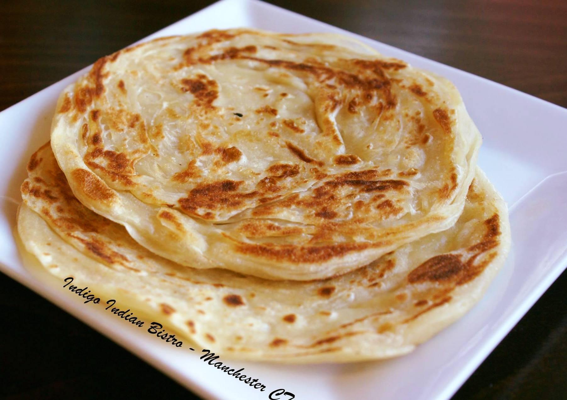 Kerala Paratha - Indigo Indian Bistro - Manchester CT