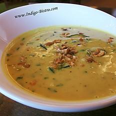Vegan Nariyal Kaju Soup (Gluten-Free, Dairy-Free, Vegan)