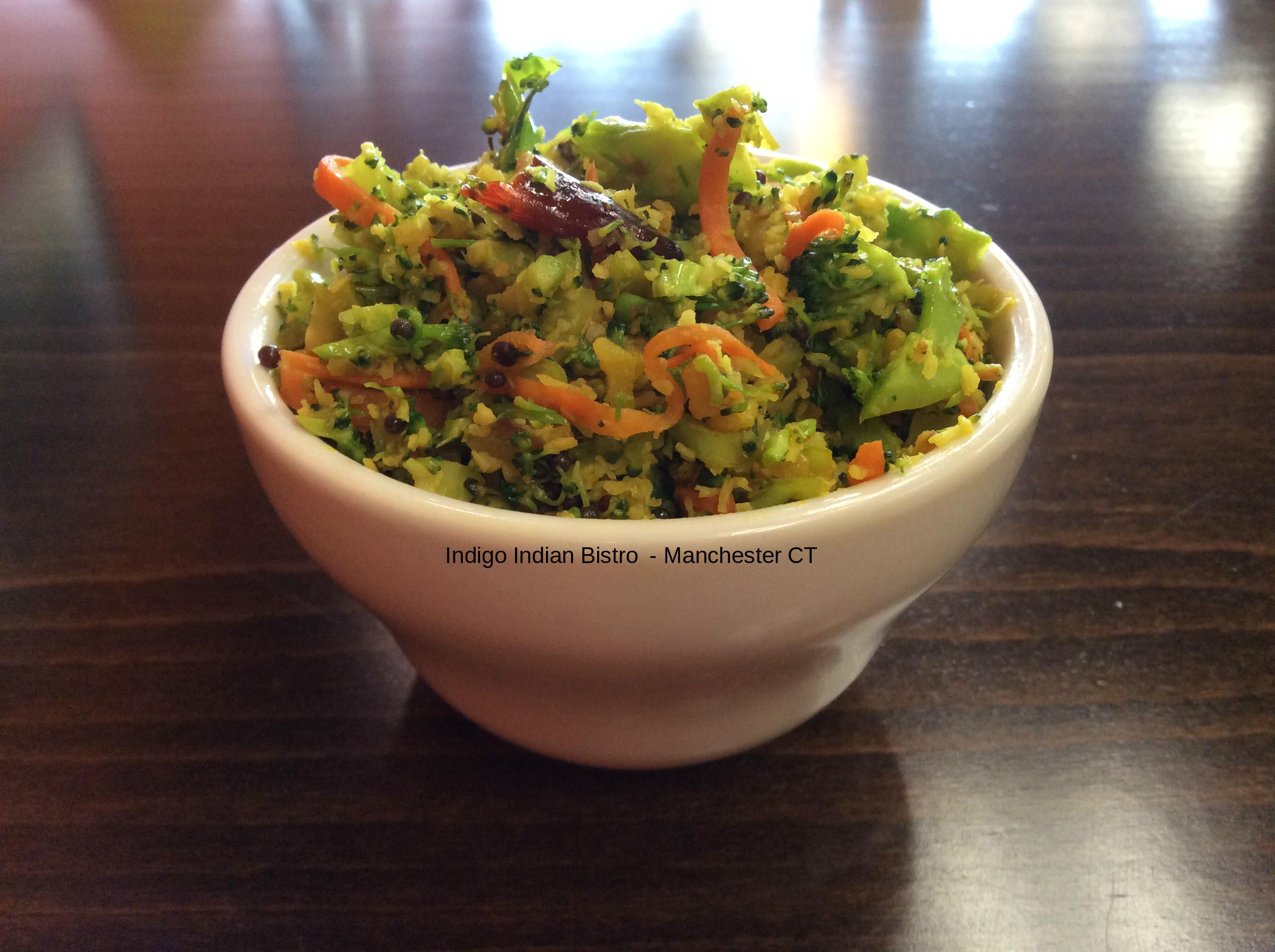 Broccoli Carrot Thoran
