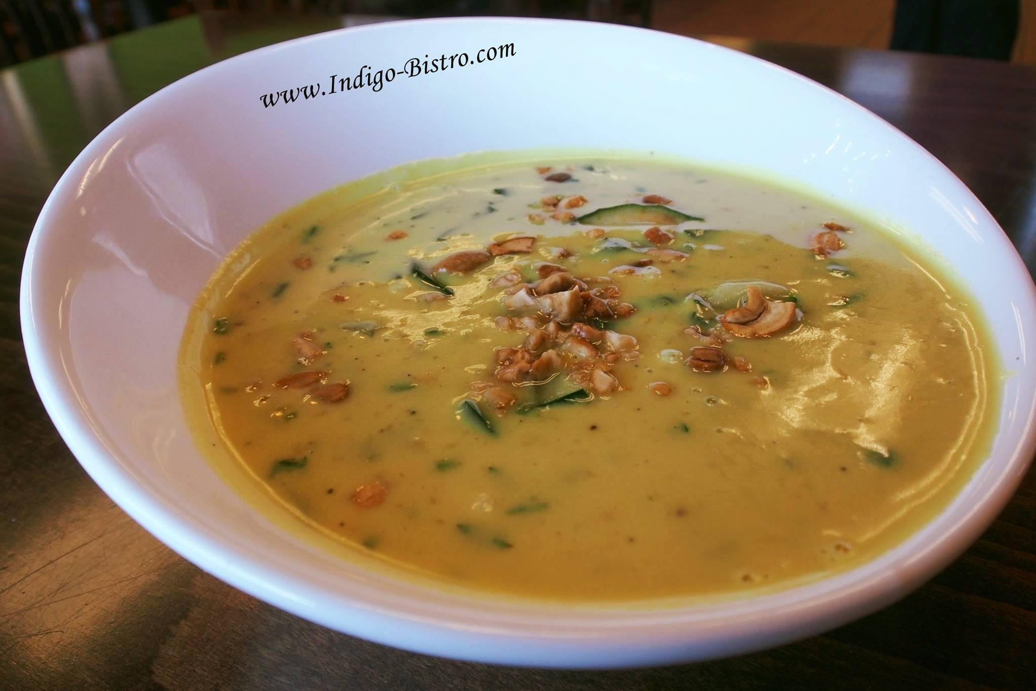Soup - Nariyal Kaju Soup