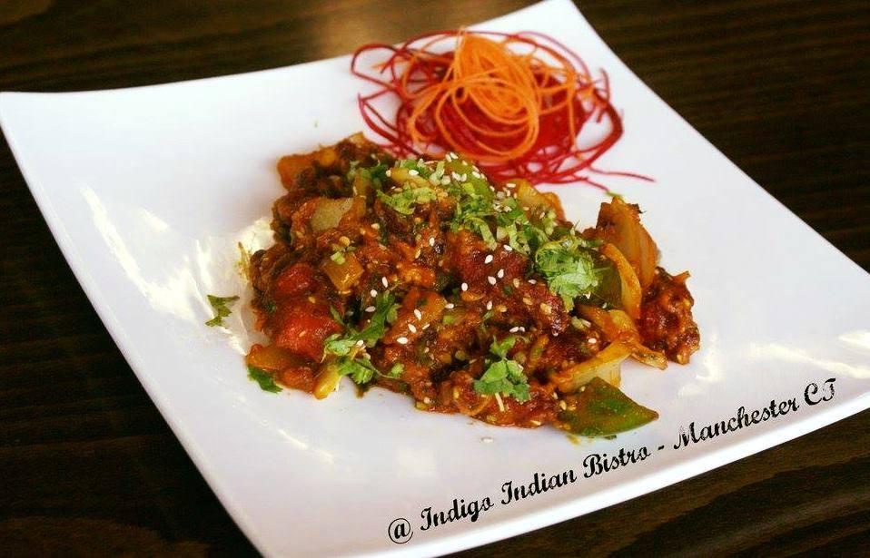 N Veg Appetizer - Andra Chili Chicken